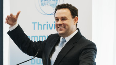 NSW Minister Stuart Ayres had a direct hand in determining which projects were funded under the government's Greater Sydney Sports Facility Fund when he was Sports Minister in 2018.