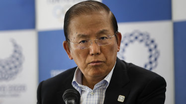 Toshiro Muto, CEO of the 2020 Tokyo Olympics organising committee, didn't answer a question about an alternative to staging the Games next year.