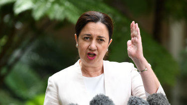 Premier Annastacia Palaszczuk says movement restrictions will stay in place over Easter and beyond.