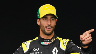 Daniel Ricciardo's two-year stint at Renault is coming to an end