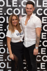 Hairdresser Mariah Rota pictured with ex-husband Tom Cole have rival salons in Double Bay.