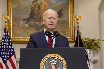 US President Joe Biden will sell the benefits of the package in his first prime-time television address since entering the White House.