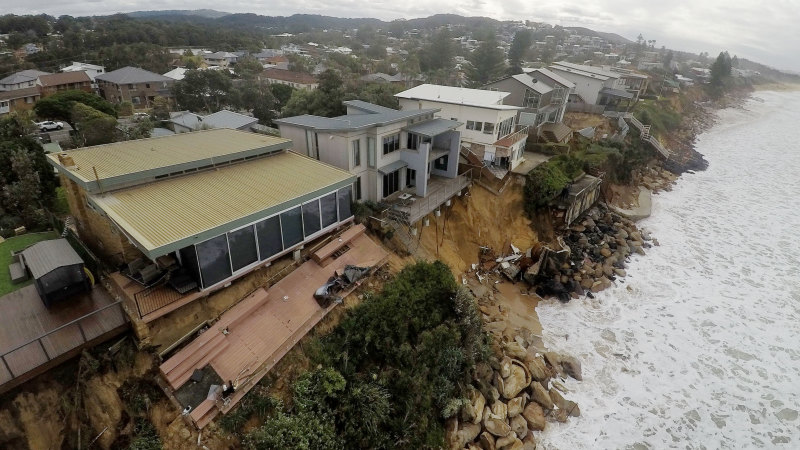 'Those homes should never have been built': The 40-year saga behind Wamberal beach erosion – Sydney Morning Herald