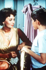 In the 1958 film Houseboat.