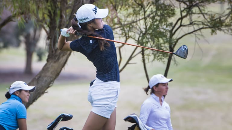 Grace Kim was Australia's Youth Olympics closing ceremony flag bearer and now she's won the Federal Amateur Open.