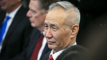 Chinese Vice-Premier Liu He has returned to the US to try to finalise a trade deal to end the tariff war.