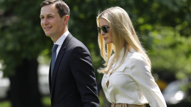 Jared Kushner, senior White House adviser, and wife Ivanka Trump, assistant to President Trump, took in $89 million in revenue last year.