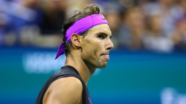Rafael Nadal will face a top-five ranked opponent in the US Open final.