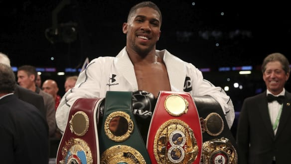 Ronaldo holds secret of youth for boxing champ Joshua