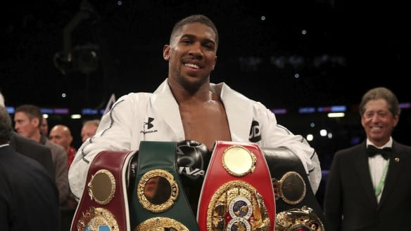The Fight and the Fury (or the Wilder or the Joshua) as big men battle