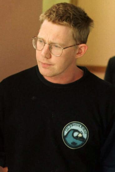 Christopher Lewis pictured in December 1996, less than a year before his death.