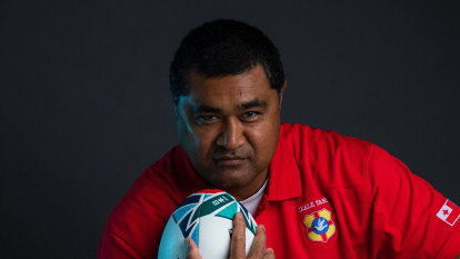 'He has a real aura about him': Rugby community rally around Wallabies great Kefu