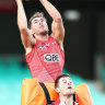 Former Cat Thurlow spreading his wings as a Swan