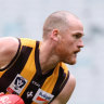 Jarryd Roughead has been playing for Box Hill in the VFL.