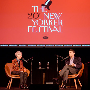 Events such as The New Yorker Festival have been a good source of non-print revenue for Condé Nast.
