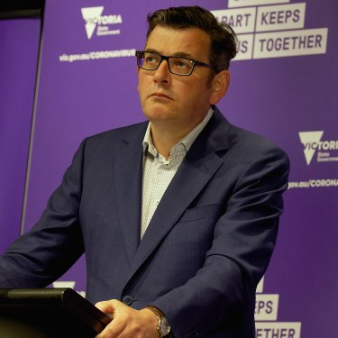 "Premier Daniel Andrews has regularly asked people to ""do the right thing""."