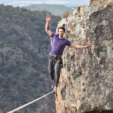 David Wegman at his retreat.
