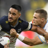 Taumalolo unstoppable as North Queensland steamroll hapless Titans
