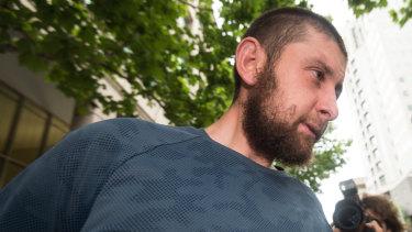 Terror accused Ertunc Eriklioglu.
