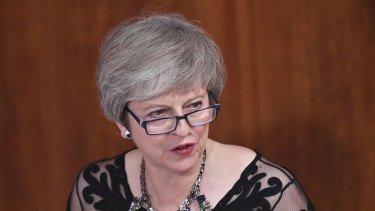 Theresa May on Wednesday tried to convince her cabinet of the merits of her Brexit deal with the EU