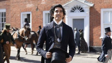 Dev Patel was Armando Iannucci's first choice to play David Copperfield.