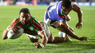 South Sydney's Alex Johnston may be on the lookout for a new club.