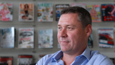 Bauer Media Australia boss Brendon Hill  announced the company had been sold to private equity.