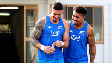 Save said he's inspired to make the switch after playing with code-hopping superstar Sonny Bill Williams.