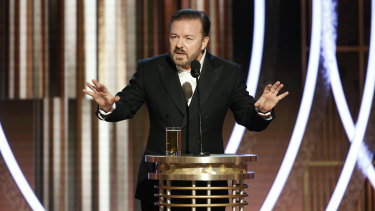 Ricky Gervais' hosting gig at the Golden Globes has led to furious debate.