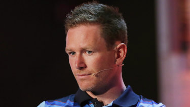 England captain Eoin Morgan.