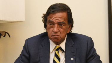 Former New Mexico governor Bill Richardson.