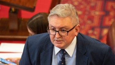 Special Minister of State Don Harwin has introduced a bill to enhance the integrity of political donations.