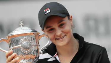 Ash Barty won the French Open.