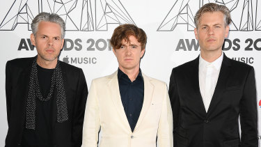 PNAU at the 2018 ARIA Awards.