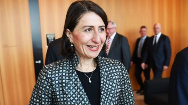 Premier Gladys Berejiklian has committed to introducing new laws next year if re-elected.