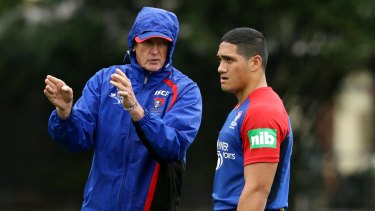 'Pretty good shape': The two coaches disagreed on what state Wayne Bennett left the Knights.