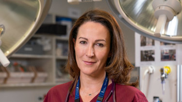 Senior emergency doctor Emma West.