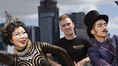 Brisbane trampolinist jumps home with new Cirque du Soleil show