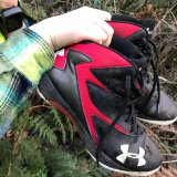 William Callaghan's shoes were found in bushland about 40 minutes before the teen was located nearby.