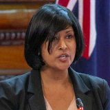 """Roshena Campbell's supporters say she is an """"outstanding, well-qualified candidate""""."""