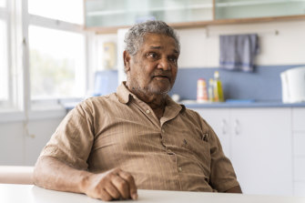 "Kuku Yalanji elder Michael Kulka is ""really proud"" to see his traditional language taught at the Mossman primary school."