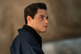 Rami Malek as villain Safin in the latest James Bond film, No Time to Die.
