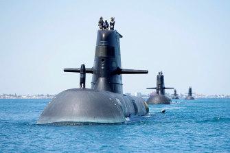 Australia's Collins-class submarines will undergo a complete rebuild.