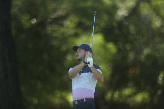 Dylan Perry has been practising this week for the NSW Open.