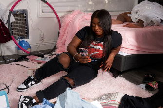 Tatayanna Mitchell, 22, briefly quit TikTok last September after struggling to cope with toxicity and harassment.