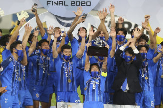 Ulsan Hyundai were crowned last year's ACL winners after the knockout stage of the tournament was played in a Qatar hub.