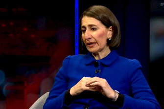 NSW Premier Gladys Berejiklian on Q+A.