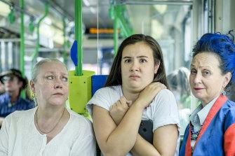 Andrea Swifte, Jem Lai and Caroline Lee in 'Single Ladies'.