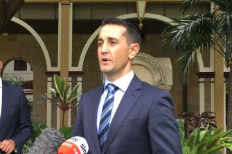 """LNP leader David Crisafulli says he believes he will """"win big"""" at the next state election."""