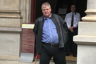 John Prothero, the father of Lauren Prothero who was killed by serial drink-driver Shane Bradley Pearce in May 2020.